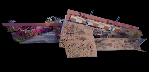 Leica Geosystems Creates Immersive Online Experience for Iconic Frank Lloyd Wright Property, Taliesin West (Graphic: Business Wire)