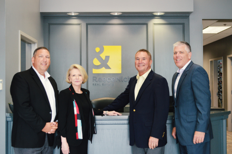 From left to right: Shaun Duggins, President of the Southern Region; Linda Vaughan, CEO; Rick Witeka, General Manager of the Southern Region; Mike Frazier, President & CFO (Photo: Business Wire)