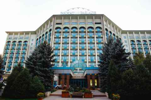 Exterior view of Hyatt Regency Almaty, Rahat Palace (Photo: Business Wire)