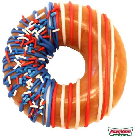The Freedom Ring Doughnut will be available beginning Monday, June 25 through Independence Day, July 4. (Photo: Business Wire)