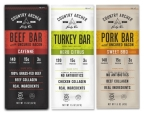 Country Archer Cayenne Beef Bar, Herb Citrus Turkey Bar and Sweet BBQ Pork Bar (Photo: Business Wire)