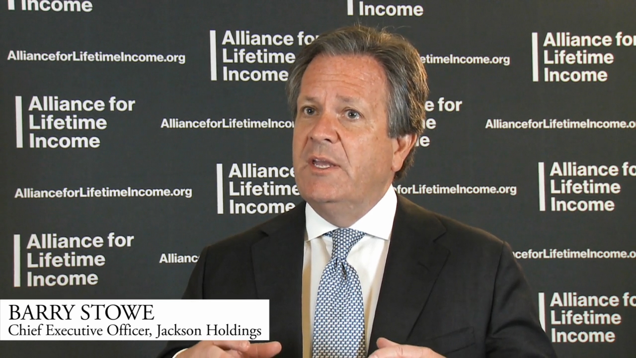 Jackson CEO Barry Stowe Spotlights the Importance of Protected Retirement Income