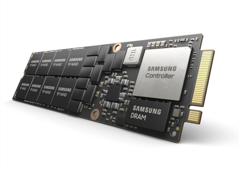 Samsung 8TB NVMe NF1 SSD (Photo: Business Wire)
