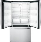 GE Appliances' new French door fridge provides about a cubic foot more capacity than comparable models. (Photo: GE Appliances, a Haier company)