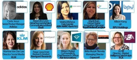 Leading female AI expert speakers to arrive in Amsterdam next week. (27-28th June) (Photo: Business Wire)