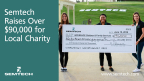 Semtech raised over $90,000 for Ventura County children and families. (Graphic: Business Wire)