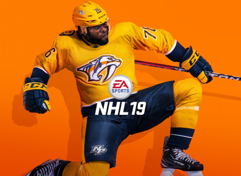 EA SPORTS NHL19 revealed with All-Star defenseman P.K. Subban as cover athlete at the 2018 NHL Awards™ (Graphic: Business Wire)