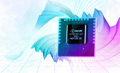 Vayyar recently launched the world's most advanced System on a Chip (SOC) for mmWave 3D imaging, which integrates more antennas than ever before (72 transmitters and 72 receivers) to offer a longer range and higher quality image of everything happening around you in real-time. (Photo: Business Wire)