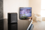 Amber is a multimedia storage and streaming device that gives users complete control over their digital assets. (Photo: Business Wire)