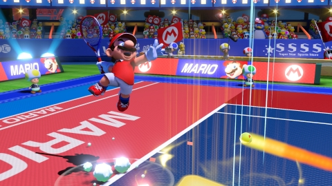 The Mario Tennis Aces game will be available on June 22. (Photo: Business Wire)