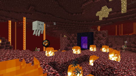The Minecraft game is bigger, better and more beautiful than ever! (Photo: Business Wire)
