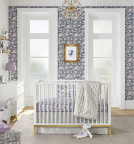Nursery in Liberty London Fabric x Pottery Barn Kids Collection available today (Photo: Business Wire)