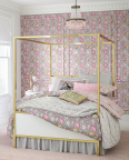 Bedroom in Liberty London Fabric x Pottery Barn Kids collection available today (Photo: Business Wire)