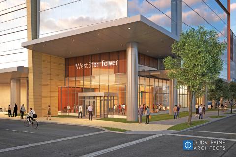 WestStar Tower Ground Floor (Photo: Business Wire)