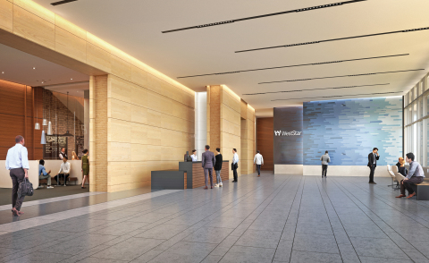 WestStar Tower Lobby Interior (Photo: Business Wire)