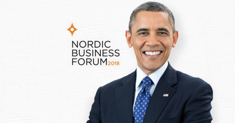 Europe's leading business and leadership conference brings President Obama to Helsinki, Finland to speak to business executives and owners. (Photo: Business Wire)