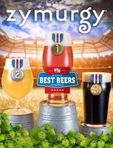 "Zymurgy magazine announces the 2018 ""Best Beers in America."" (Photo: Business Wire)"