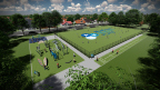 The BlueCross BlueShield of Tennessee Health Foundation broke ground at Memphis' David Carnes Park on the inaugural project of its new strategic focus, the BlueCross Healthy Place program. (Photo: Business Wire)
