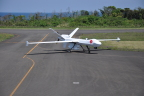 The demonstration flights, which took place from 10 - 23 May, were intended to promote the civil and scientific applications of the RPA. This was the first demonstration of a long-endurance RPA by a private company in Japan. The aircraft's sensors included a long-range maritime surface-search radar, stabilized optical and infrared video cameras, and an active collision-avoidance system, including a short range air-to-air radar. (Photo: Business Wire)