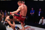 Brian Foster Defeats Ramsey Nijem by TKO at PFL2 (Photo: Business Wire)