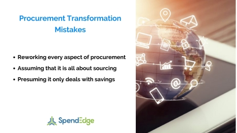 The Role of Procurement Transformation in Achieving Organizational Goals - A SpendEdge Whitepaper (Graphic: Business Wire)