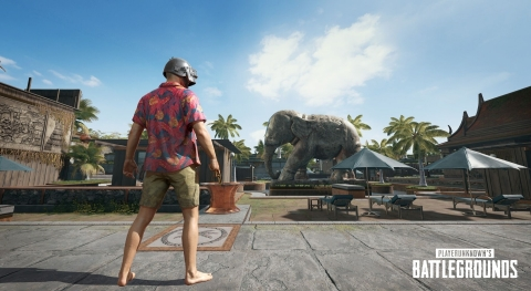 In-Game Screenshot from the all new PUBG map, Sanhok (Graphic: Business Wire)