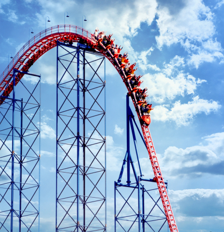SUPERMAN: The Ride at Six Flags New England Named Best Roller Coaster by USA TODAY Readers. (Photo: Business Wire)