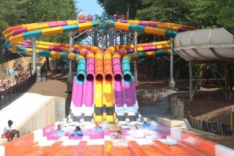 USA TODAY Readers Name Six Flags White Water Among Top 10 Best Outdoor Waterparks in the Country. (Photo: Business Wire)