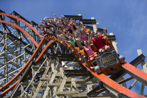 USA TODAY Readers Name Goliath at Six Flags Great America among Top 10 Best Roller Coasters. (Photo: Business Wire)