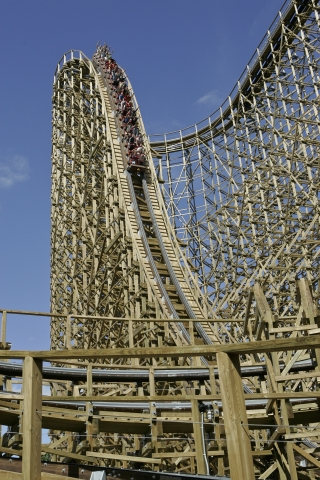 USA TODAY Readers Name El Toro at Six Flags Great Adventure Among Top 10 Best Roller Coasters in the Country. (Photo: Business Wire)