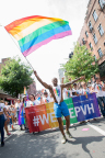 PVH associates at NYC Pride March 2018 (Photo: Business Wire)