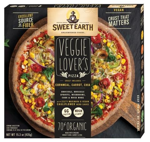Sweet Earth Foods Veggie Lover's Pizza Box (© Sweet Earth Foods)