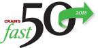 Zebra Technologies Corporation announces its worldwide recognition for an assortment of achievements. Notably, Zebra was ranked 45 on Crain's Chicago Business® Fast 50 list, which annually features the fastest-growing companies in the Chicago area.