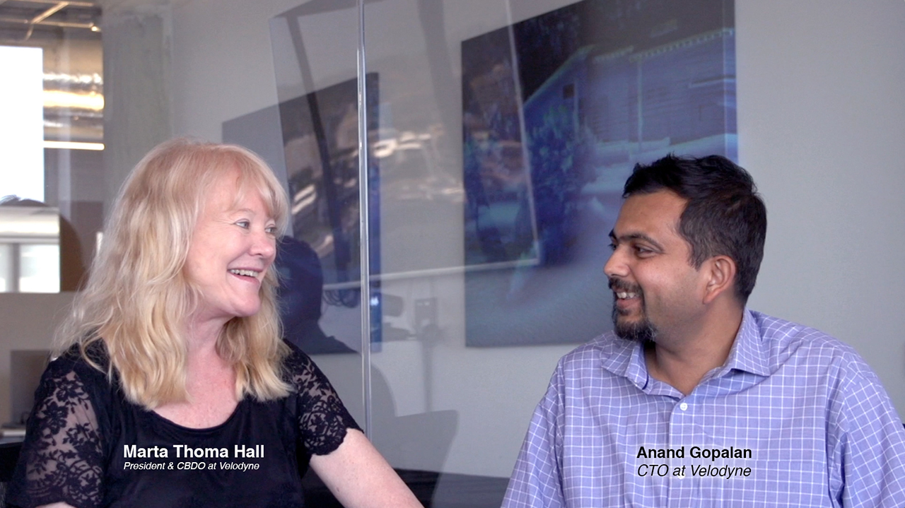 Marta Thoma Hall interviews Anand Gopalan on his upcoming LiDAR technology presentation at the Sensors Expo & Conference.