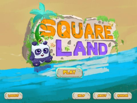 Square Panda announced SquareLand, a new in-depth learning world for 2018 back-to-school (Graphic: Business Wire)