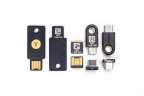 The YubiKey FIPS Series hardware authentication devices include keychain and nano form factors for USB-A and USB-C interfaces. (Photo: Business Wire)
