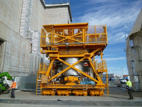 CNIM's high safety fuel handling systems (Photo: Business Wire)