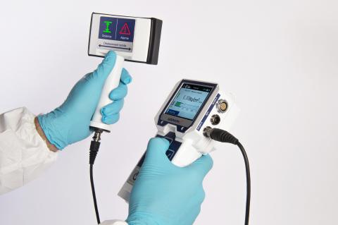SaphyRAD multi-probe contamination meter (Photo: Business Wire)