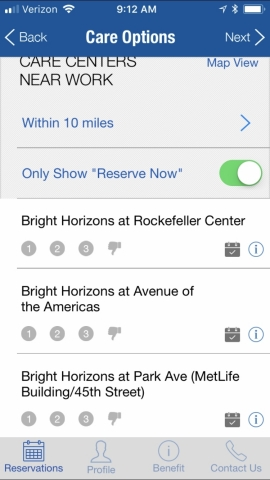 Bright Horizons Launches First-Ever Mobile Application for Reserving Emergency Child Care (Photo: Business Wire).