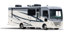 The all-new, fully redesigned 2019 Fleetwood RV Flair Class A Gas Motorhome. (Photo: Business Wire)
