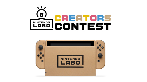 Fans who submit creations to the Nintendo Labo Creators Contest have the opportunity to win some cool limited-edition prizes, including a specially designed, collectible cardboard-inspired Nintendo Switch system! (Graphic: Business Wire)