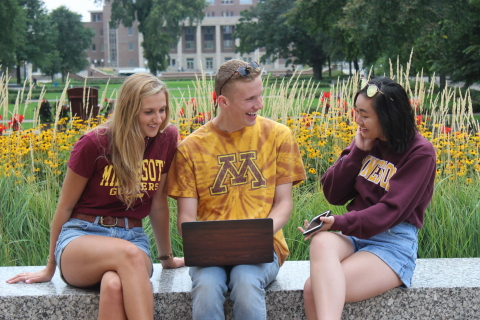 University of Minnesota is delivering secure and reliable Wi-Fi to its 48,000 students and 18,000 faculty and staff with an Aruba mobile-first network. (Photo: Business Wire)