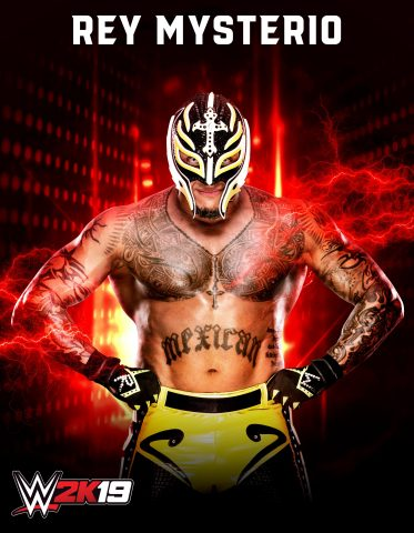 2K today announced that former WWE Champion, Rey Mysterio, will return to virtual WWE action – for the first time in four years – through WWE®  2K19, the forthcoming release in the flagship WWE video game franchise. (Photo: Business Wire)