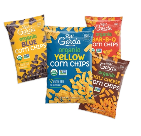 RW Garcia's new Organic Corn Chips debut this summer in four delicious flavors