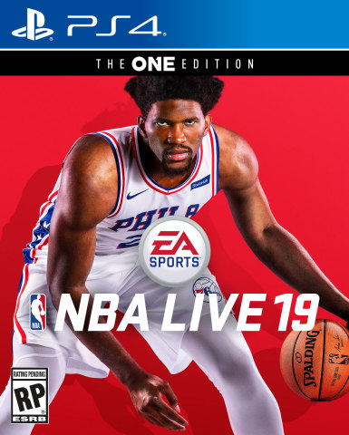 JOEL EMBIID LANDS EA SPORTS NBA LIVE 19 COVER, PREPARES TO TAKE ON THE WORLD (Graphic: Business Wire)