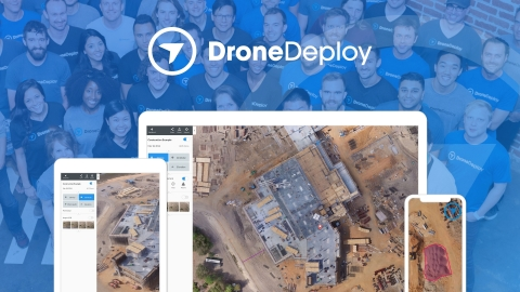 DroneDeploy raised $25 million in series C funding. DroneDeploy is the largest cloud-based drone data platform with a community of 30,000 users having mapped 30 million acres in 180 countries on 400,000 job sites. (Graphic: Business Wire)
