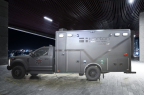 The REV Guardian, an ambulance wrapped in Level IIIA ballistic protection with run flat tire inserts (Photo: Business Wire)
