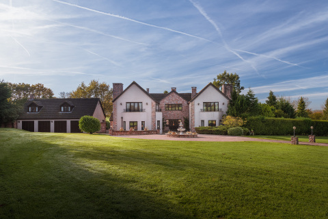 The competition prize is this English mansion, set in 10-acres of grounds. (Photo: Business Wire)
