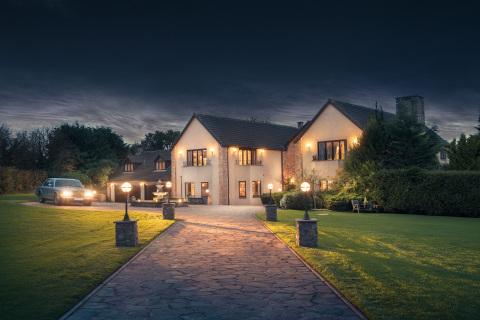 百万富翁庄园是首届全球房屋大赛的奖品。(照片:美国商业资讯)