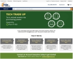 The new Tech Trade Up program available for customers on NeweggBusiness.com (Photo: Business Wire)